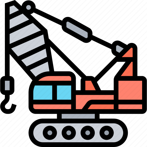 Construction, crane, lifting, engineering, machinery icon - Download on Iconfinder