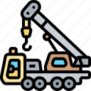crane, lifting, hook, industrial, construction
