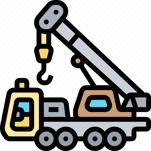 Crane, lifting, hook, industrial, construction icon - Download on Iconfinder