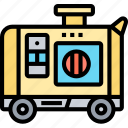 generator, power, electricity, backup, engine