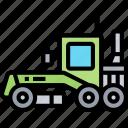 grader, bulldozer, tractor, clearance, construction