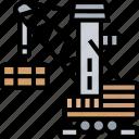 harbor, crane, lift, logistics, industrial