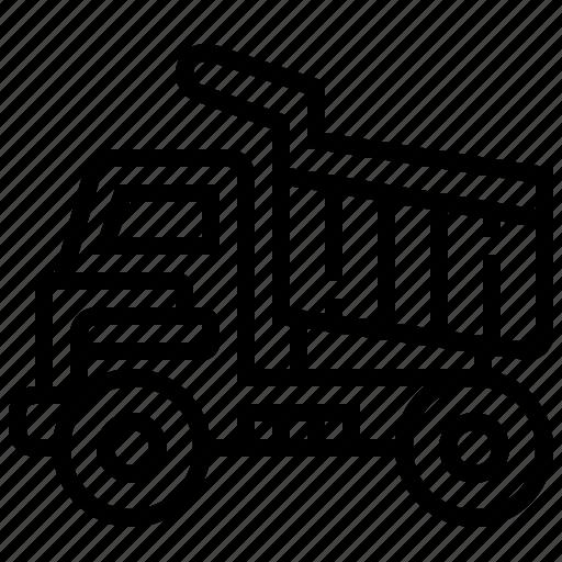 car, dump, transport, transportation, truck, vehicle icon