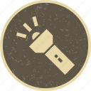 flash, lamp, light, torch icon