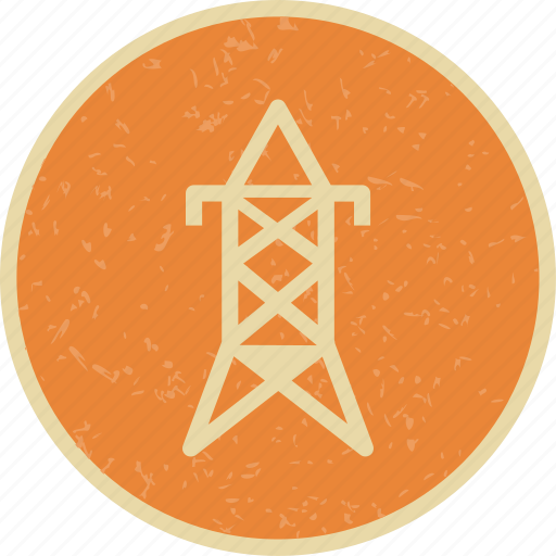 electric tower, eletricity, tower icon
