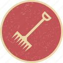 agriculture, farm, farming, rake icon