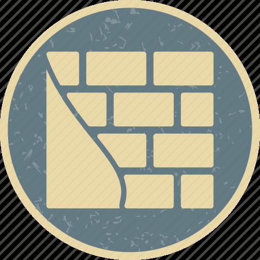 brick wall, brickwall, wall icon