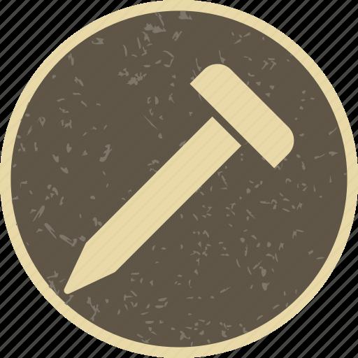 metal, nail, screw icon