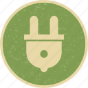 electric, plug, plugin, socket icon