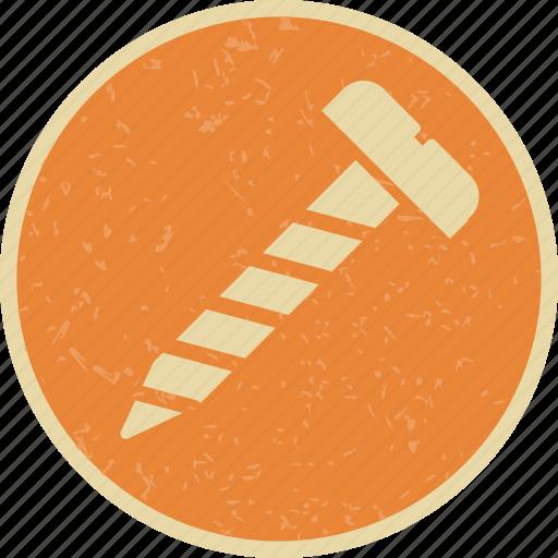 bolt, nail, screw icon