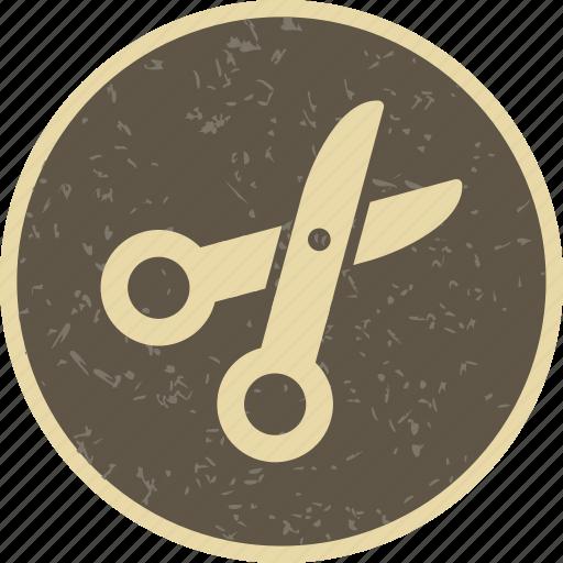 cut, cutting, scissor icon
