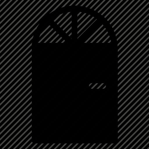 building, door, hotel, lock, property, work icon