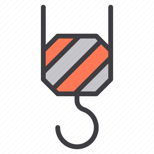 construction, crane, fix, home, tool icon
