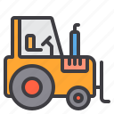 construction, fix, home, tool, tractor icon