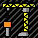 architecture, building, construction, crane, estate, property, work