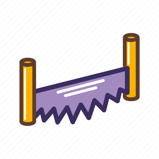Hand, saw, tools, wood icon - Download on Iconfinder