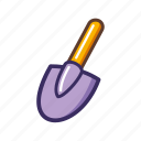 construction, equipment, repair, shovel icon