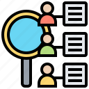 consumer, demand, learning, research, survey icon