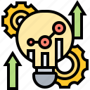 analysis, developing, marketing, research, strategy icon