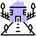 address, pin, house, building, location, placeholder, home icon