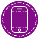 call, communication, contract, device, smartphone icon