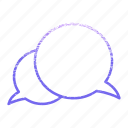 boubble, chat, contact us, dialogue, message icon