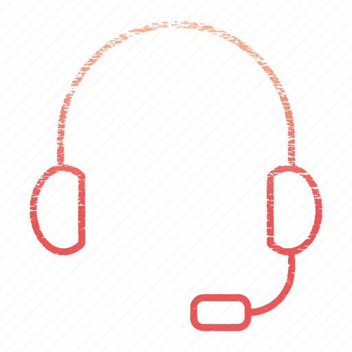 contact us, head, headphone, help, phone, support icon