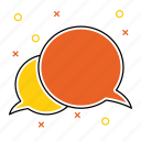 bubble, chat, communication, conversation, message icon