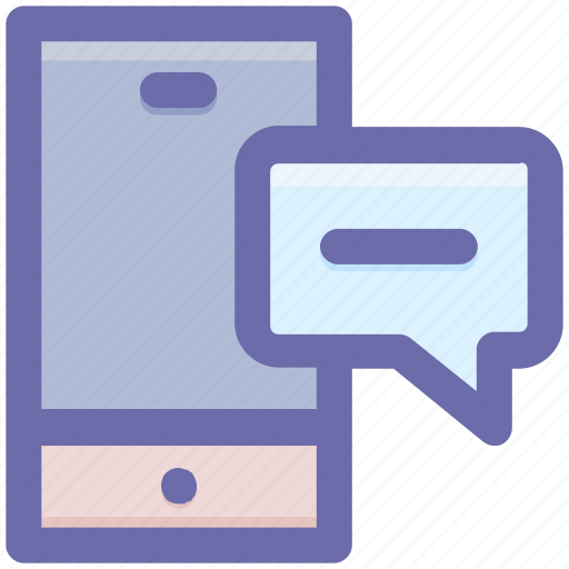 chat, chatting, message, mobile, phone, smartphone, sms icon