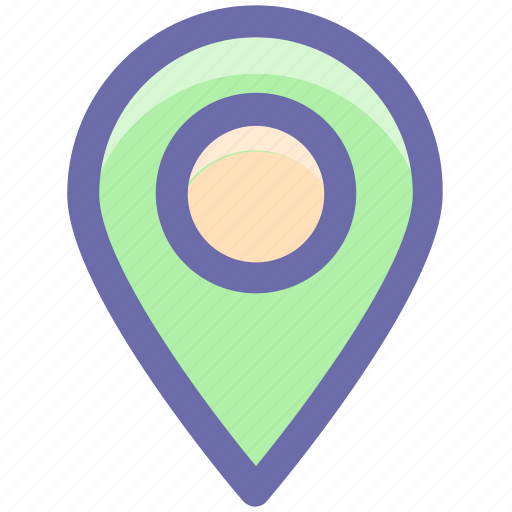 Direction, location, map, map pin, pin, web icon - Download on Iconfinder