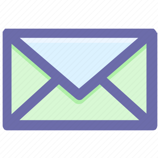 email, envelope, letter, mail, message, postcard icon
