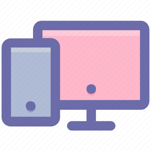display, lcd, lcd and mobile, mobile, screen icon