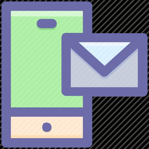 email, envelope, internet, letter, mobile, postcard icon