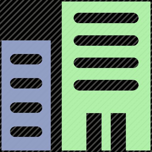 apartment, building, company, enterprise, mall, office icon