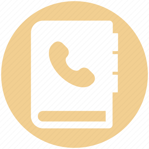 Address, book, bookmark, contact book, contacts, phone icon - Download on Iconfinder