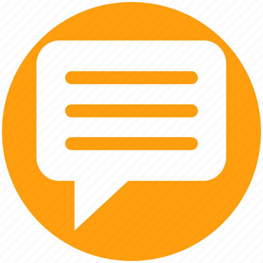 Chat, comment, conversion, message, sms, text icon - Download on Iconfinder