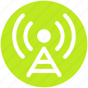 antenna, signals, wifi antenna, wifi signal, wifi tower icon