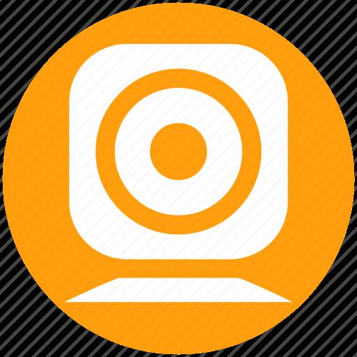 cam, camera, live, video, web cam, web camera icon
