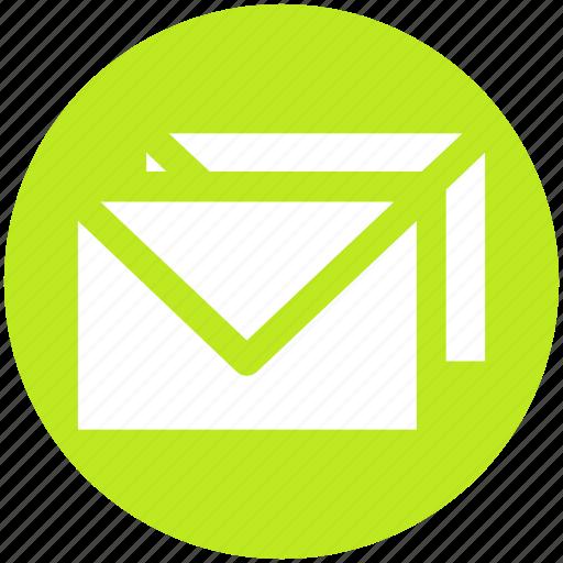 emails, envelopes, letter cover, letters, mails, messages, postcards icon
