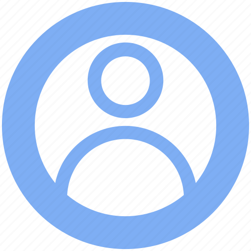 circle, employee, man, person, picture, profile, user icon