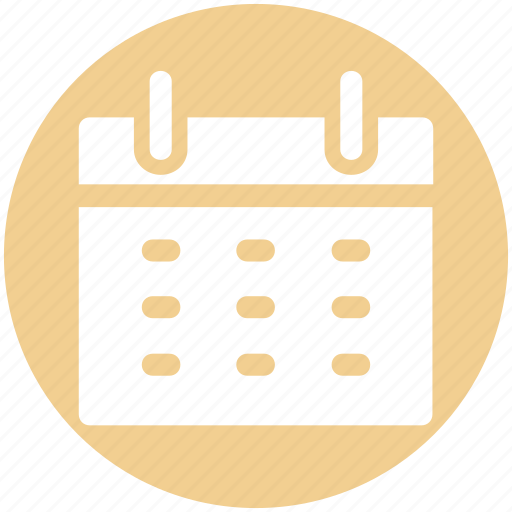 Agenda, appointment, calendar, date, month, schedule icon - Download on Iconfinder