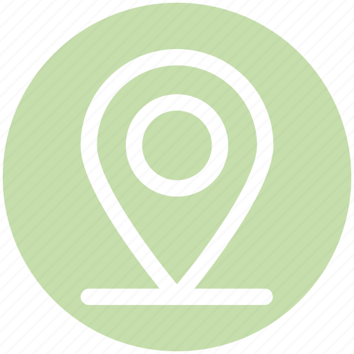 direction, gps, location, map, map pin, pin, web icon
