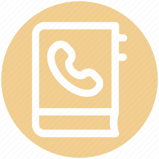 address, book, bookmark, contact book, contacts, phone icon