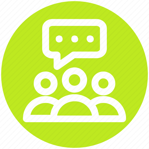 chatting, comments, group, messages, sms, talking, users icon