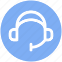 earphone, head phone, headphones, headset, service, songs icon