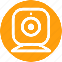 cam, camera, live, video, web cam, web camera icon