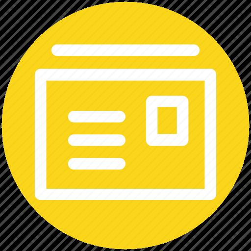 envelopes, letters, mail, messages, postcard icon