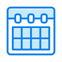 calendar, contact, event, month icon