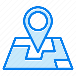 contact, location, map, pin icon