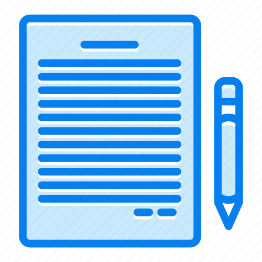 contact, list, note, survey icon